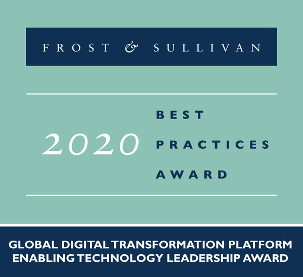 2020 Global Digital Transformation Platform Enabling Technology Leadership Award