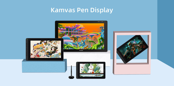 More Approachable Pen Displays - Huion Kamvas Series Introduces 11.6- and 15.6-Inch Displays