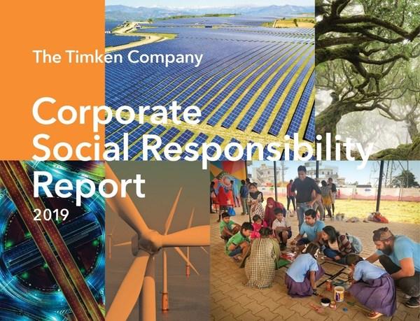 铁姆肯公司发布2019年企业社会责任报告,详述打造更高效和更具弹性的世界的愿景