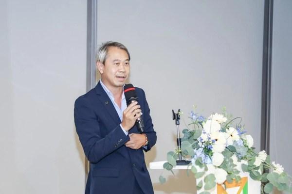 澳门设计师协会会长、澳门设计之旅代表朱焯信发表策展宣言