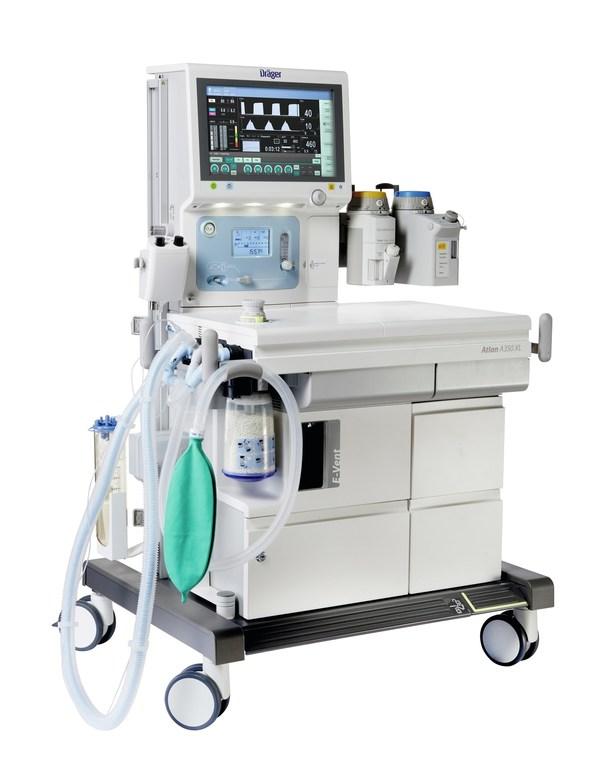 德尔格医疗进博会发布新品Atlan麻醉工作站
