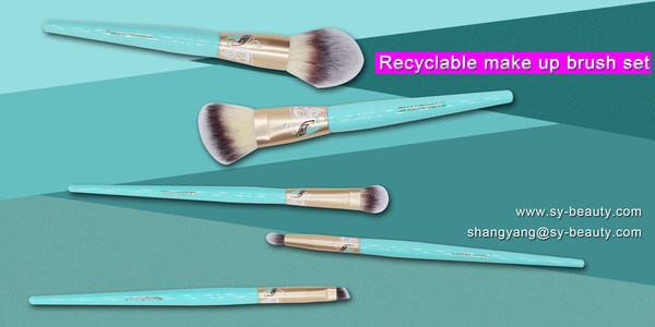 With a variety of colours and degradable materials, ShangYang's brushes are must-haves for customers around the world