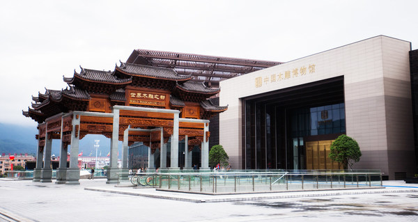 中国東部の浙江省・東陽市のWorld Woodcarving City
