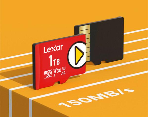 Lexar雷克沙Play microSD存储卡