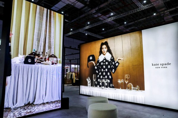Tapestry旗下品牌kate spade new york于进博会设立特色展区