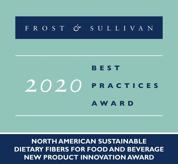 Comet Bio Awarded by Frost & Sullivan for its Arrabina(TM) Prebiotic Fiber