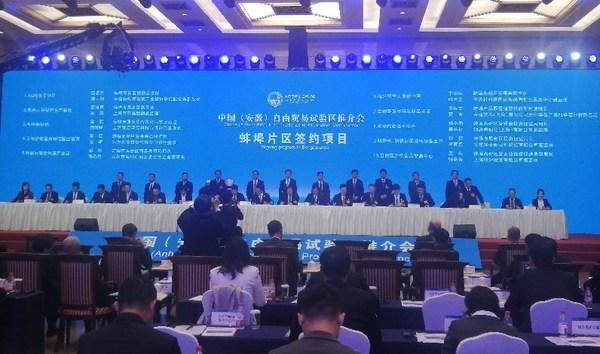 进博会首日:TUV莱茵与蚌埠质检院在安徽自贸区推介会达成战略合作