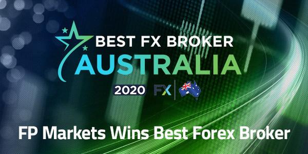 FP Markets recognised as 'Best FX Broker Australia'