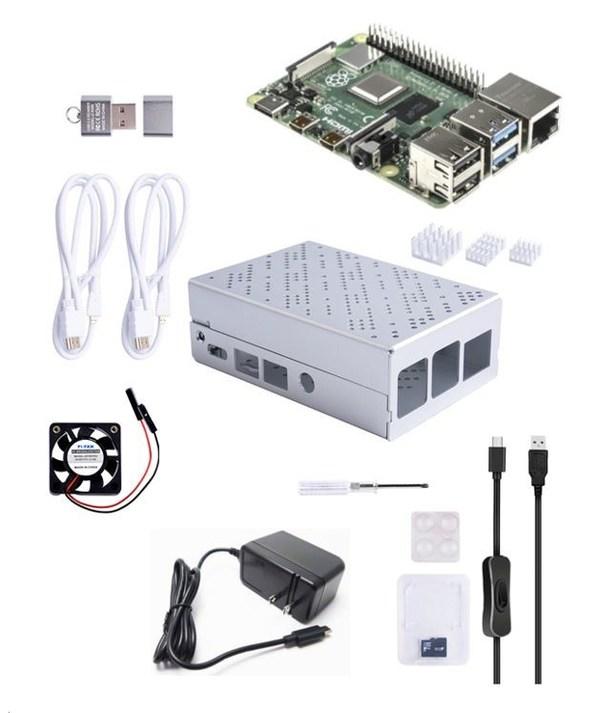 アールエスコンポーネンツ、RaspberryPi(TM) 4スターターキットを発売