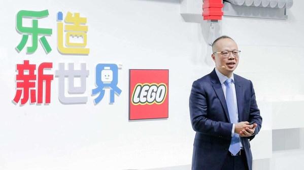 乐高集团高级副总裁、中国区总经理黄国强