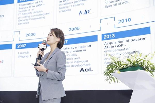 TUV莱茵大中华区工业服务与信息安全副总经理杨家玥