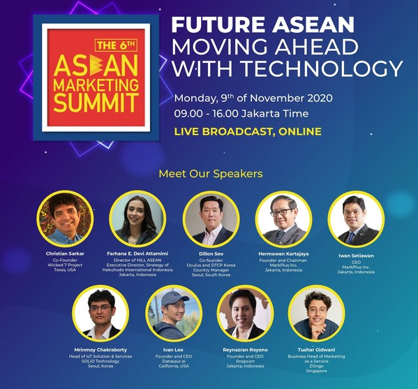 MarkPlus, Inc. in collaboration with Philip Kotler Center for ASEAN Marketing will hold ASEAN Marketing Summit (AMS) 2020 on Monday, November 9th 2020, starting from 09.00 AM to 04.00 PM Jakarta Time.