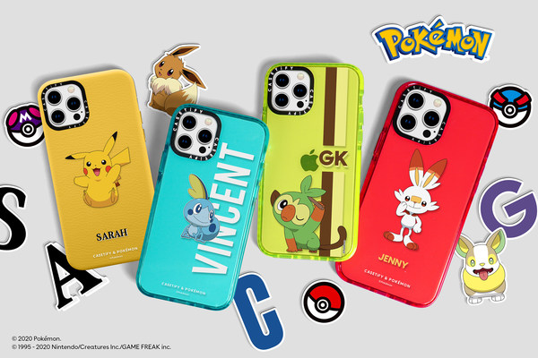 The Latest Release from CASETiFY Includes More Pokémon on Customizable Accessories