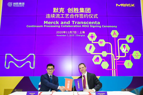 Merck and Transcenta Collaborate to Advance Continuous Biomanufacturing, Make the 'Facility of the Future' a Reality