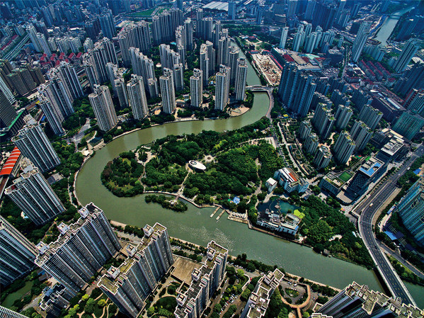 Putuo district in Shanghai