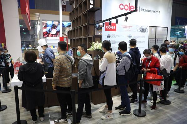 Coles客澳市携高品质明星食品第三年亮相中国国际进口博览会