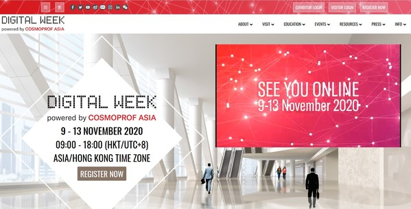 Cosmoprof Asia Digital Week Goes Live Today