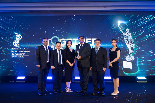 B. Braun Thailand wins 'Best Company to Work for in Asia' Award