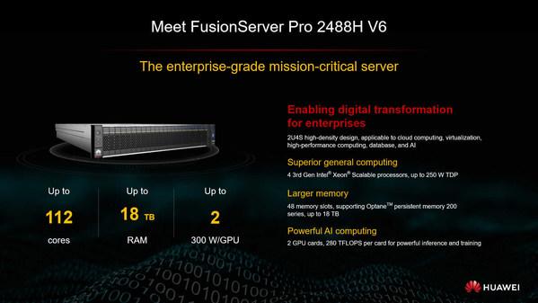 Máy chủ thông minh Huawei FusionServer Pro cùng đối tác đi đến thành công