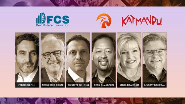 FCS房地产创新公司与方垦创意集团和Katmandu集团联手在整个欧洲范围,共同打造最尖端的基于故事的景点体验