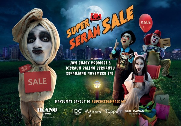 Enjoy super 'seram' promotions and discount at IPC Shopping Centre this November