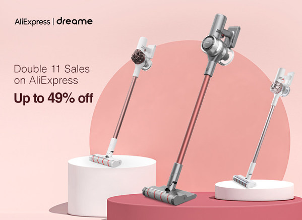 Dreame Launches Huge Discount Offers on AliExpress Double 11 Shopping Festival