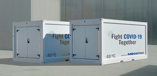 German MECOTEC Group launches one-stop-solution for deep-freeze, transport, storage and distribution for COVID-19-Vaccines with its first Mobile Hybrid Container
