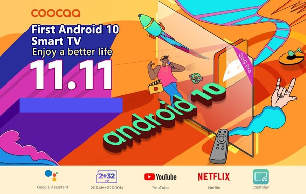 "TV coocaa Digemari Konsumen Asia Tenggara di Ajang ""Double 11"""