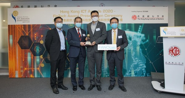 Winners of the Hong Kong ICT Awards 2020: FinTech Award Announced