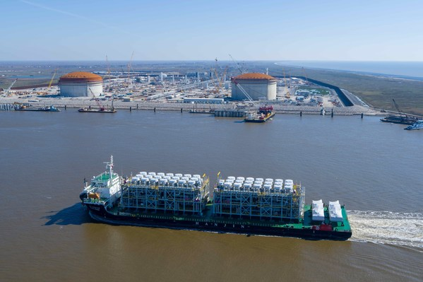 Venture Global Calcasieu Pass Announces Arrival of First Factory-Fabricated Liquefaction Trains