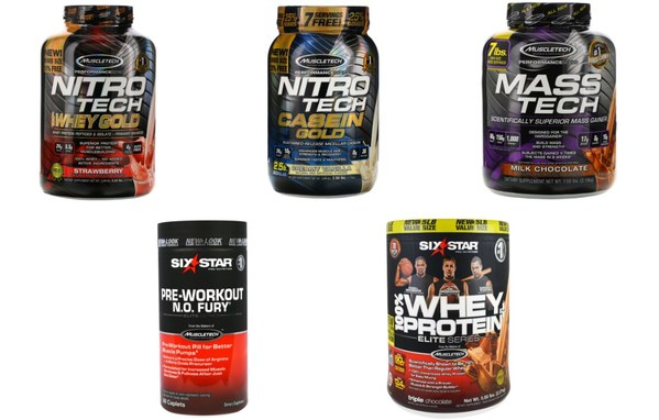 sport nutrition series -- MuscleTech, Six Star