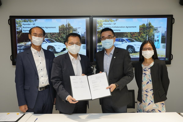 SP Group partners Hyundai Motor Group to accelerate adoption of electric vehicles in Singapore