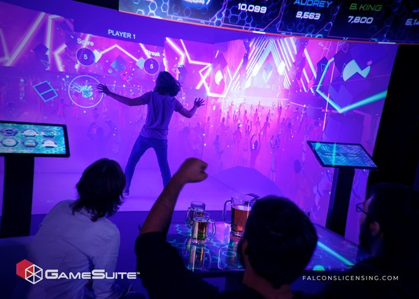 Falcon's Creative Group Unveils GameSuite™ Product for Entertainment Venues