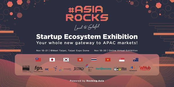 Joining Forces with the Largest Startup Festival in Taiwan, #AsiaRocks Returns With More Contents for Startups to Softland in the APAC Region
