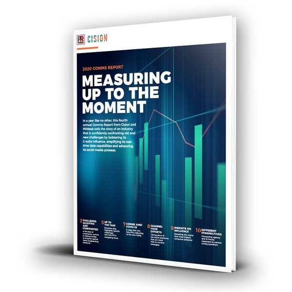 Cision and PRWeek's 2020 Comms Report Reveals Top Trends Every Communicator Should Watch and Act On