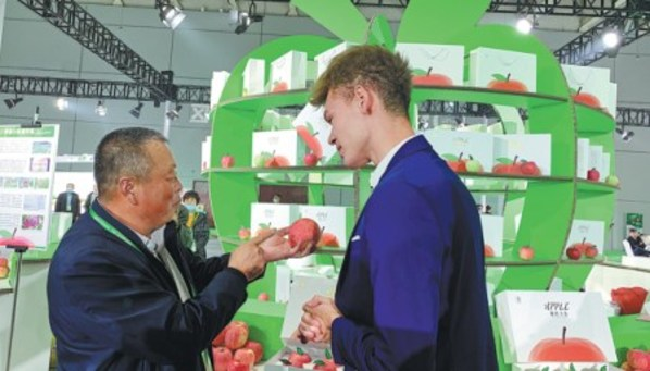 Yantai's apples at the core of rural development