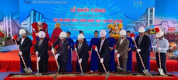 USI's Vietnam Facility Groundbreaking Ceremony