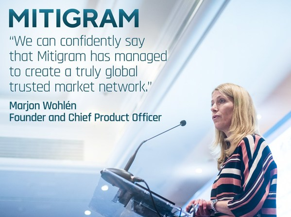 Trade Finance fintech Mitigram further establishes global leadership with ground breaking partnership