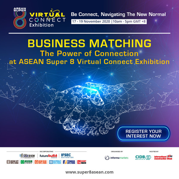Grab this opportunity to get your business going and expand your network through this exclusive business matching platform
