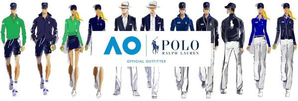 Ralph Lauren 成为澳大利亚网球公开赛官方指定服装品牌