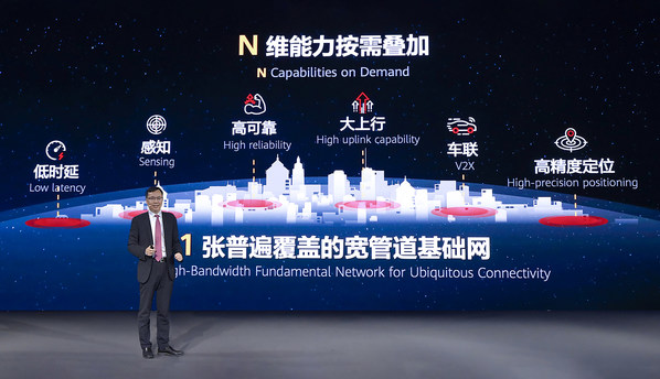 "Huawei Launches a Full Series of 5G Solutions for ""1+N"" Target Networks"