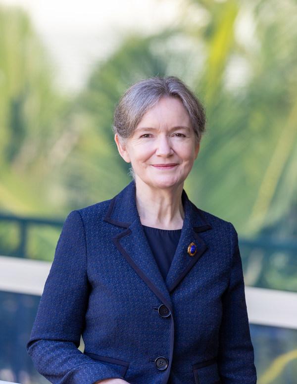 Dr Victoria Gordon, CEO and Managing Director of QBiotics