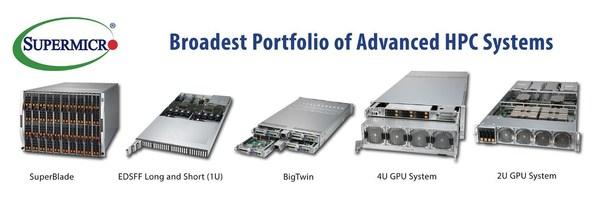 超微高级HPC平台产品组合亮相超级计算展会