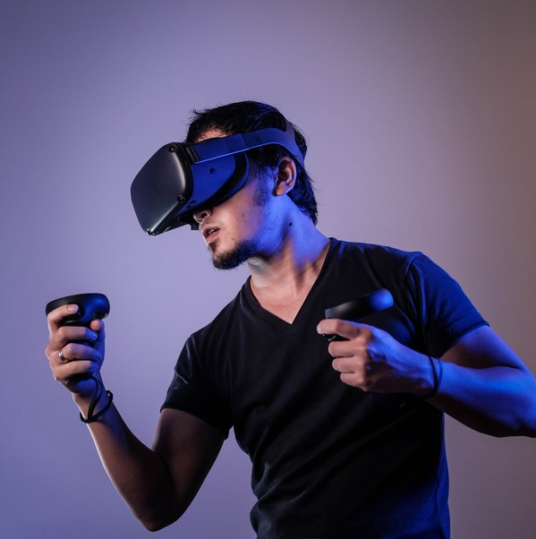VR模拟游戏展区