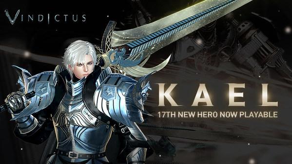 Kael, Vindictus' 17th Hero, Update