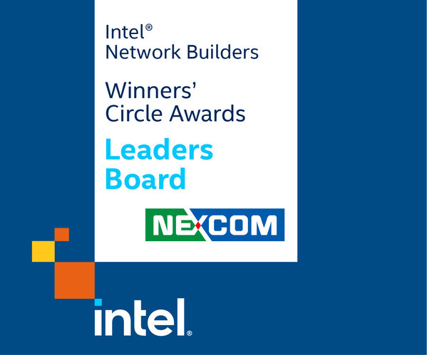 NEXCOM Named to Intel Network Builders Winners' Circle Awards