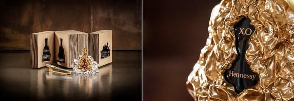 轩尼诗X.O 150周年纪念大师典藏版酒樽、特别增添的全新元素 -- 酒座和汲酒器、以及专属礼盒