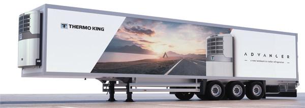 特灵科技旗下冷王推出 Advancer ---- 创新拖车制冷机组