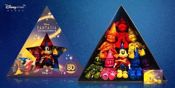 迪士尼商店魔法师米奇80周年珍藏礼盒