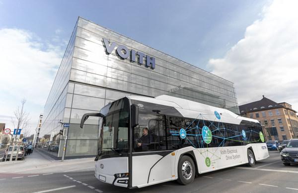 福伊特与Orten携手为商用车领域提供纯电动化解决方案